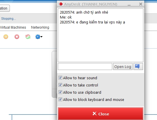 anydesk chat