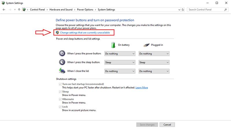 Cách bật chế độ Hibernate cho Windows 10